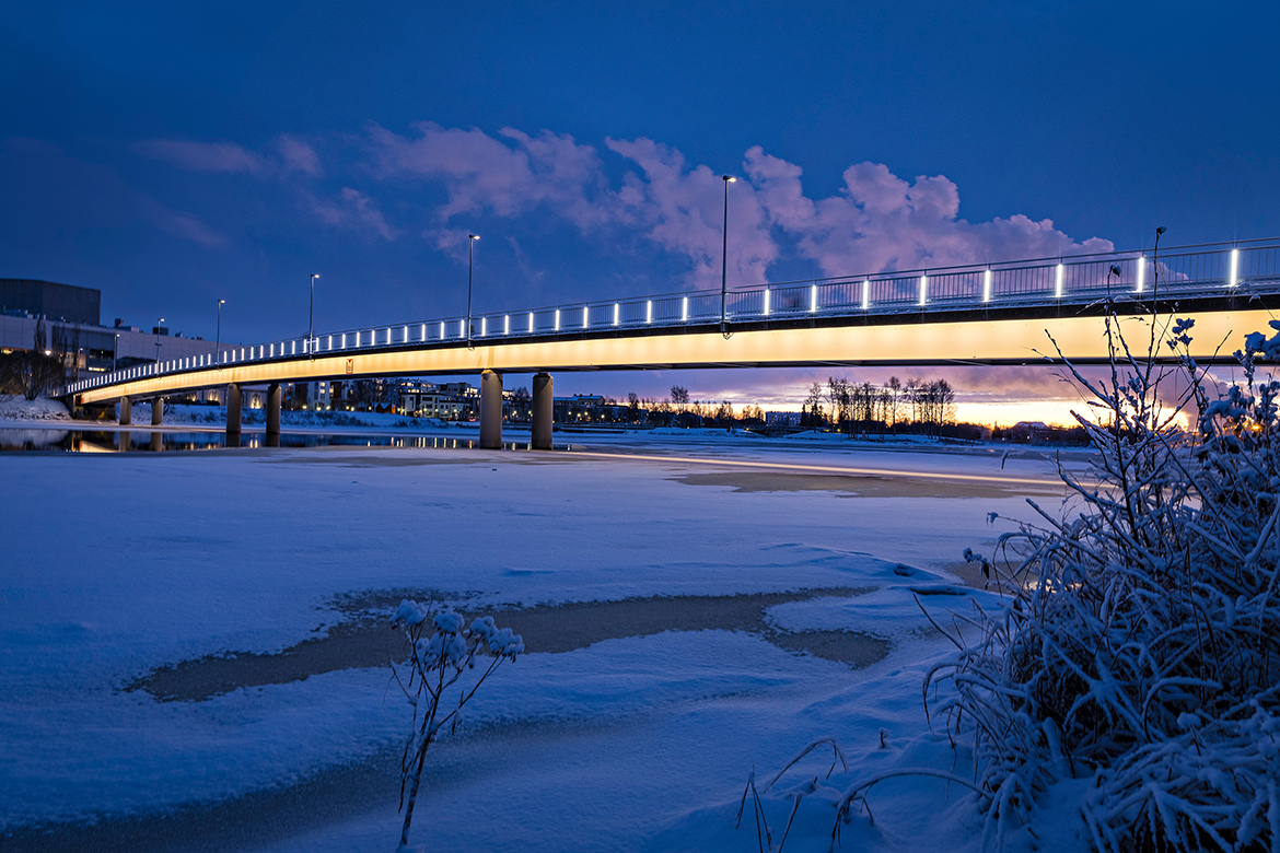 Pikisaari and Oulujoki river bridges