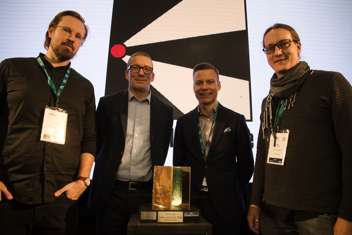 Helsinki metro stations won Lighting Design of the Year 2019 Finland