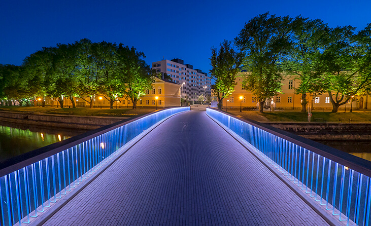 Turku Kirjastosilta – Library Bridge