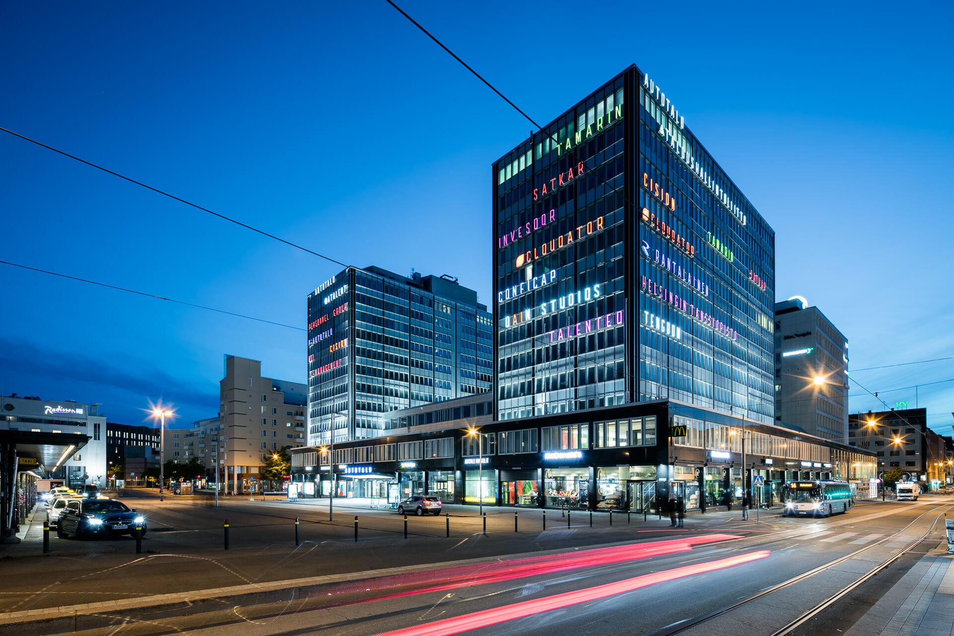 Autotalo business building Helsinki